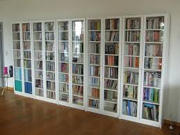 Ikea White Bookcase With Glass Doors Glass Bookshelf Ikea Billy Bookcase With Glass Doors From Great