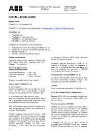 pcm600 v2 5 installation guide