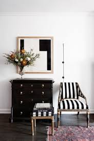Black And White Chairs by Cool Black And White Striped Chair For Famous Chair Designs With