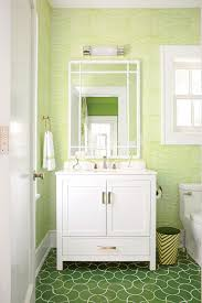 bathroom tile backsplash ideas dark green ceramic tile green