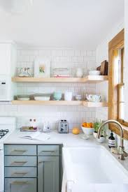 Open Shelving Cabinets 10 Lovely Kitchens With Open Shelving