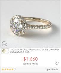 how much do engagement rings cost differences between 10k 14k 18k yellow gold karat