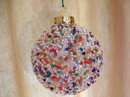 seed bead ornament family crafts
