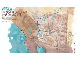 Colorado River On A Map by Announcing America U0027s Most Endangered Rivers Of 2017 American Rivers