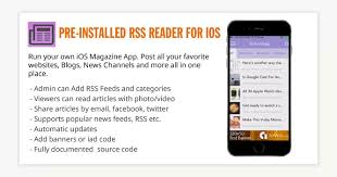 rss reader android pre installed rss reader for ios mobile app development android