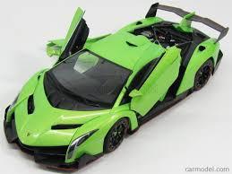 Lamborghini Veneno Green - autoart 74509 scale 1 18 lamborghini veneno 2013 light green