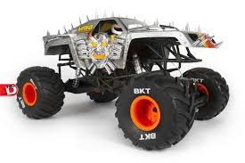rc monster jam trucks smt10 max d monster jam truck 1 10th scale electric 4wd from axial