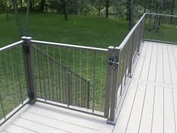 deck gate deck railing gate railing polyvinyl sales aluminum