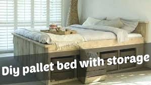Pallet Platform Bed Beds Made Out Of Pallets Pallet Bed Frame 4 Bunk Beds From