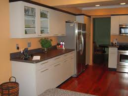 kitchen refurbishment ideas beige wall color with white cabinet for small kitchen renovating