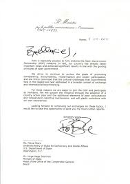 Intent Letter For Employment by Italy Open Government Partnership
