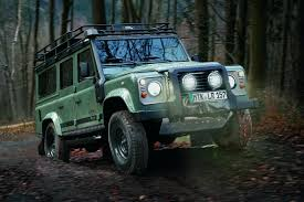 2012 Land Rover Defender Blaser Edition Revealed Machinespider Com
