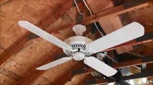 Uplight Ceiling Fans by Emerson Premium Ceiling Fan With Uplight 4 Blades Youtube