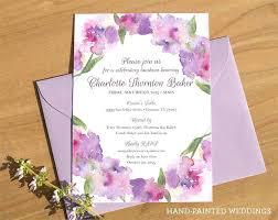 wedding invitations ireland amazing painted wedding invitations or custom wedding