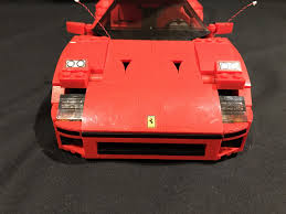 ferrari headlights light my bricks ferrari f40 led lighting kit u2013 lightmybricks u2013 medium