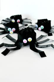 diy halloween spider tutorial