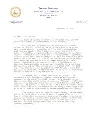 letter of recommendation from mayor eugene c brune somerville
