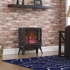 Electric Stove Fireplace Duraflame 1 000 Sq Ft Vent Free Electric Stove U0026 Reviews Wayfair