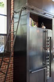 Meuble Cuisine Acier by Cuisine En Acier Dans Un Loft à San Francisco