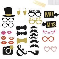 photo booth accessories aliexpress buy 30 pcs set wedding photo booth props on a
