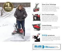 home depot black friday dartmouth ma toro power clear 518 ze 18 in single stage gas snow blower 38473