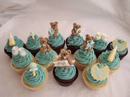 teddy baby shower decorations photo baby shower cupcakes cake image