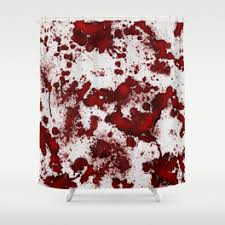 Blood Shower Curtain Bloody Shower Curtains Society6
