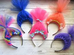 hair headbands trolls hair headbands a simple guide color the moon