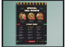 menu flyer template top 30 free restaurant menu psd templates in 2017 colorlib