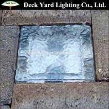 solar retaining wall lights 12v solar led paver light retaining wall crystal led solar ice brick