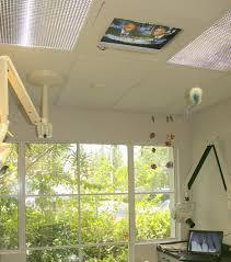 home office with tv efficiency at the dental office with a prosthodontist and