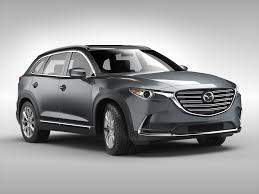 mazda suv cars mazda cx 9 2016 3d model cgtrader