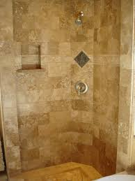 Floor Tile Ideas For Small Bathrooms 20 Cool Ideas Travertine Tile For Shower Walls With Pictures