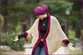 Cocoon Sweater Cardigan How To Crochet A Granny Square Cocoon Sweater Cardigan Youtube