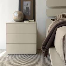 bedroom table ls set of 2 bond cream bedside cabinet gloss or matt