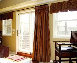 Curtain Ideas For Front Doors by Kitchen Window Treatment Ideas For Sliding Glass Doors In
