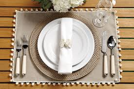 table setting placemat 16 outdoor place setting ideas how to decorate