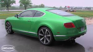bentley sports car 2014 2013 bentley continental gt overview cars com
