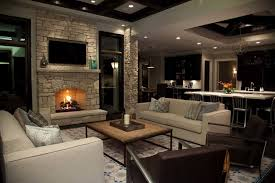 small open fireplace pictures living room calm country style