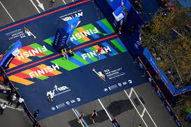 New York Marathon Map by Aerial Views Of The 2016 New York City Marathon