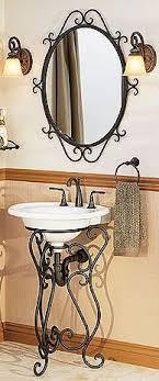 Wrought Iron Bathroom Furniture Suporte Pia Mobile Homes Pinterest Wrought Iron Iron And
