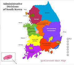 Map Of World Korea by Geocurrents Maps Of South Korea Geocurrents