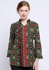 model baju atasan untuk orang gemuk 2015 model baju dan 35 galeri model baju atasan batik lengan panjang yang elegan