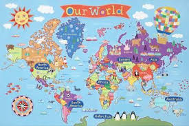 world maps posters at allposters com