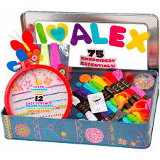 alex toys craft my embroidery kit walmart com