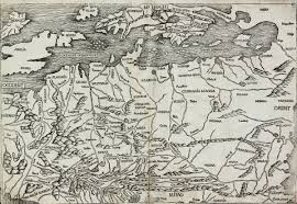 germania map germania magna schedel europe continent 1493