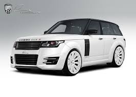 customized range rover interior lumma news range rover transforms to a track star