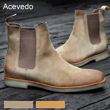 mens tan motorcycle boots aliexpress com buy acevedo brand new arrival 2017 men boots