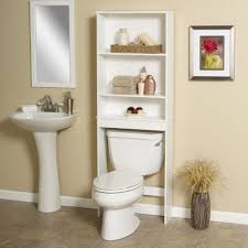 Bathroom Storage Shelves Over Toilet by Over Commode Storage Cabinets Bathroom Shelves Over Toilet Over