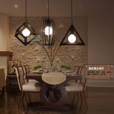 retro bar loft iron industrial lighting fixtures bedroom dining